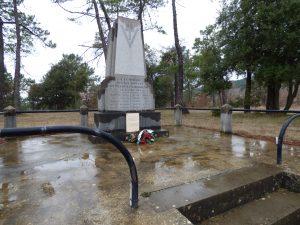 Le monument des fusillés